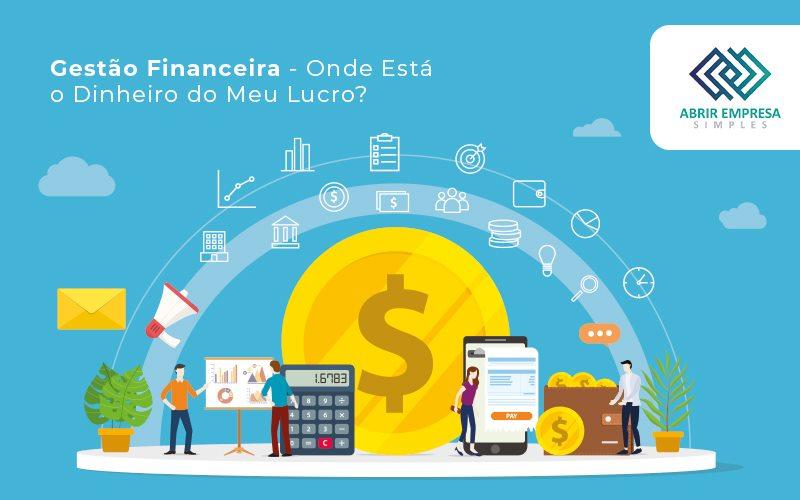 Gestão Financeira Onde Está O Dinheiro Do Meu Lucro - Abrir Empresa Simples