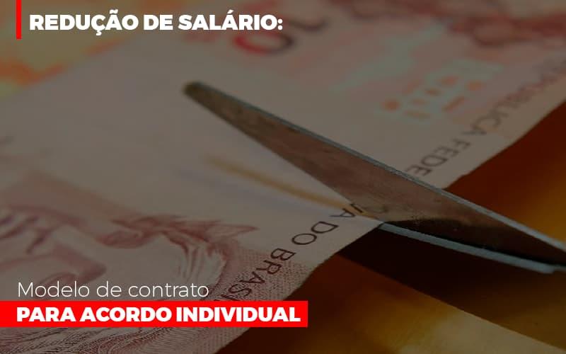 Reducao De Salario Modelo De Contrato Para Acordo Individual (1) - Abrir Empresa Simples